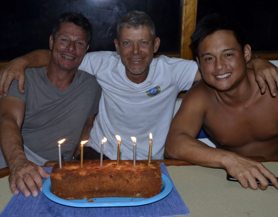 Toxic team on Denis'birthday - www.rodfishingclub.com - Rodrigues Island - Mauritius - Indian Ocean