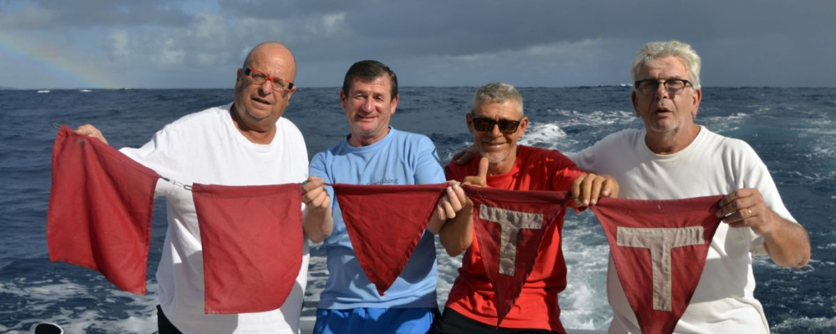 5 flags for the sharky team - www.rodfishingclub.com - Rodrigues - Mauritius - Indian Ocean