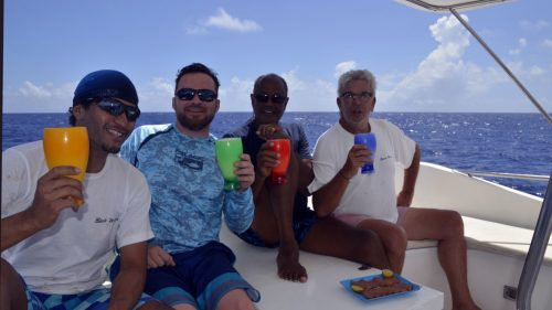 Cocktail for the Pull in Team - www.rodfishingclub.com - Rodrigues - Mauritius - Indian Ocean