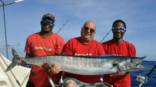 Wahoo on trolling - www.rodfishingclub.com - Rodrigues - Mauritius - Indian Ocean