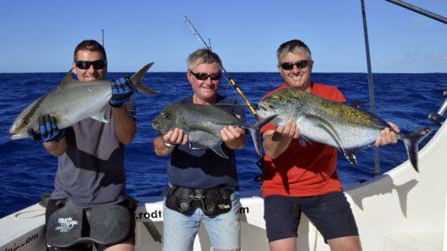 Belle variete en peche au jig - www.rodfishingclub.com - Rodrigues - Maurice - Ocean Indien