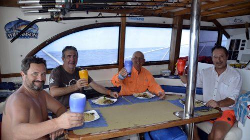 Bon appétit sur Black Marlin - www.rodfishingclub.com - Rodrigues - Maurice - Ocean Indien