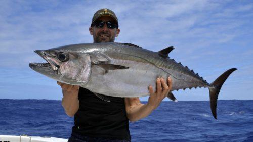 Doggy on jigging - www.rodfishingclub.com - Rodrigues - Mauritius - Indian Ocean
