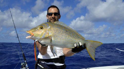 Emperor on jigging - www.rodfishingclub.com - Rodrigues - Mauritius - Indian Ocean