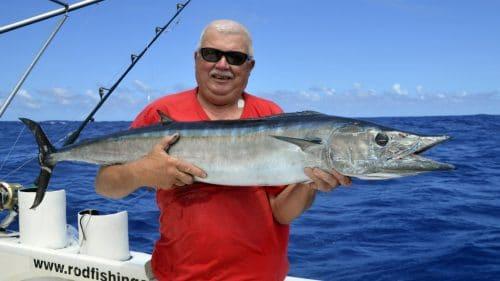 Wahoo en peche a la traine par Daniel - www.rodfishingclub.com - Rodrigues - Maurice - Ocean Indien