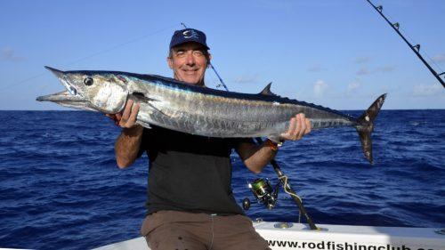 Wahoo en peche a la traine par Marc - www.rodfishingclub.com - Rodrigues - Maurice - Ocean Indien