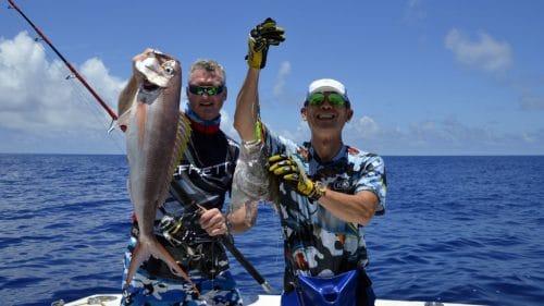 Diversité en peche au jig - www.rodfishingclub.com - Rodrigues - Maurice - Ocean Indien