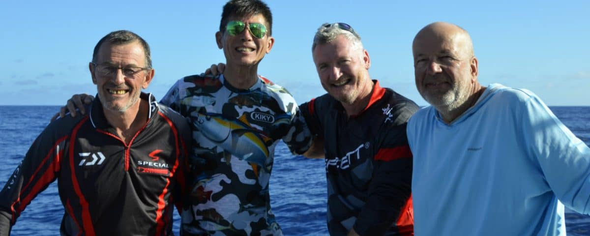 Equipe complete - www.rodfishingclub.com - Rodrigues - Maurice - Ocean Indien
