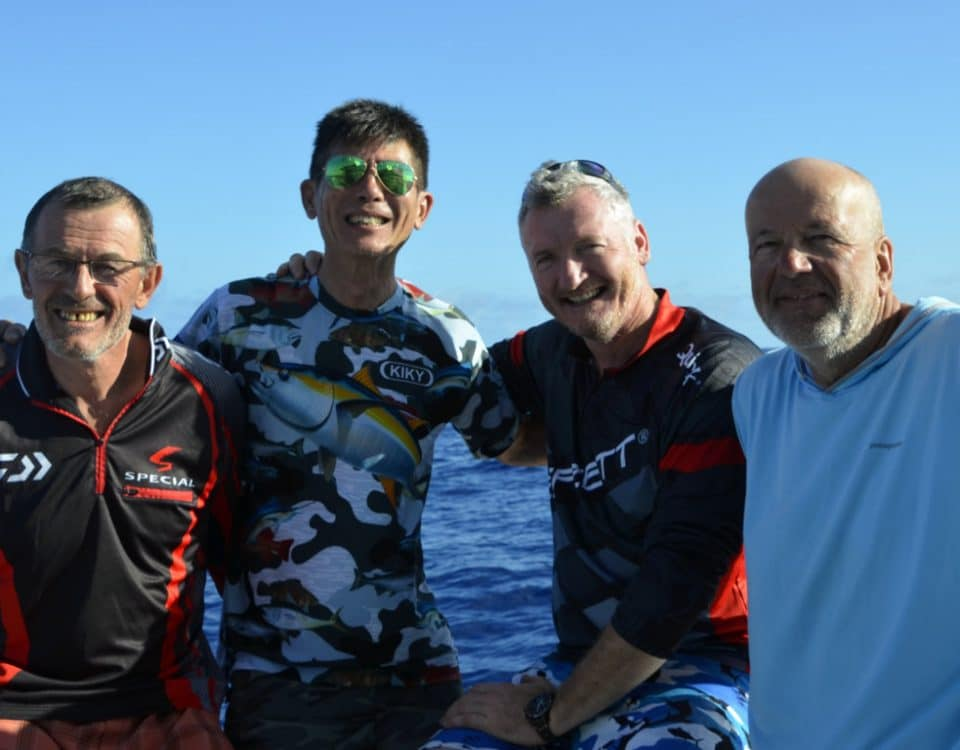 The whole team - www.rodfishingclub.com - Rodrigues - Mauritius - Indian Ocean