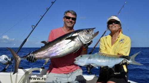 Doggy and jobfish on baiting - www.rodfishingclub.com - Rodrigues - Mauritius - Indian Ocean