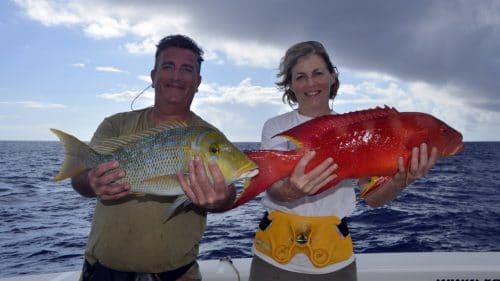 Variety on baiting - www.rodfishingclub.com - Rodrigues - mauritius - indian ocean