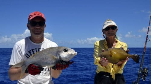 Variety on bottom fishing - www.rodfishingclub.com - Rodrigues - Mauritius - Indian Ocean