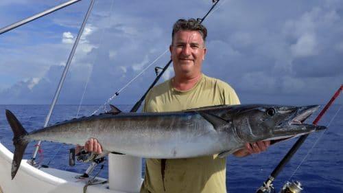 Wahoo en peche a la traine par Eric - www.rodfishingclub.com - Rodrigues - maurice - ocean indien