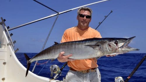 Wahoo en peche a la traine - www.rodfishingclub.com - Rodrigues - Maurice - Océan Indien