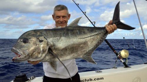 Belle GT en peche a l appat par Denis - www.rodfishingclub.com - Rodrigues - Maurice - Océan Indien