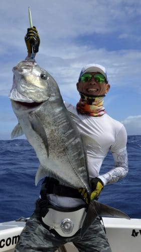 GT released on jigging - www.rodfishingclub.com - Rodrigues - Mauritius - Indian Ocean