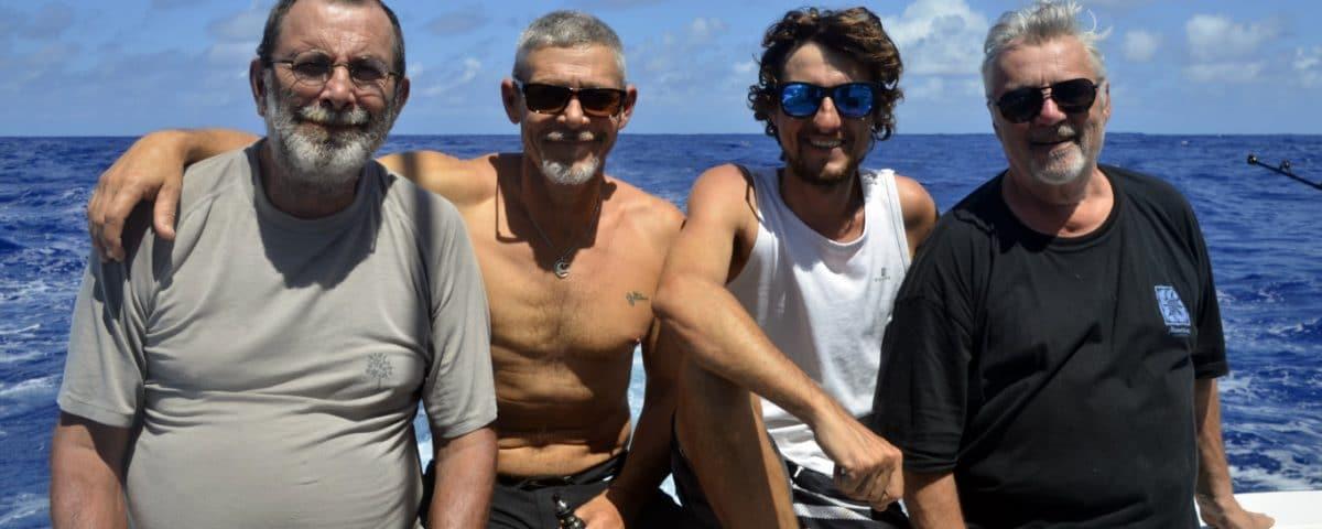 La team chili - www.rodfishingclub.com - Rodrigues - Maurice - Ocean Indien