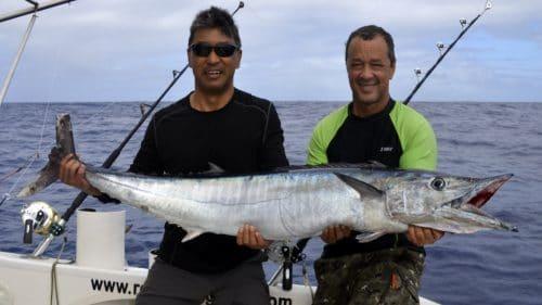 Nice wahoo on trolling - www.rodfishingclub.com - Rodrigues - Mauritius - Indian Ocean