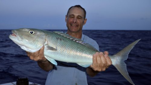 Jobfish on jigging by Eric - www.rodfishingclub.com - Rodrigues - Mauritius - Indian Ocean