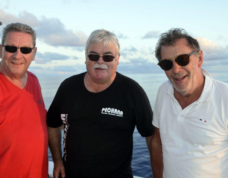 La team Moron Fishing Cup - www.rodfishingclub.com - Rodrigues - Maurice - Océan Indien